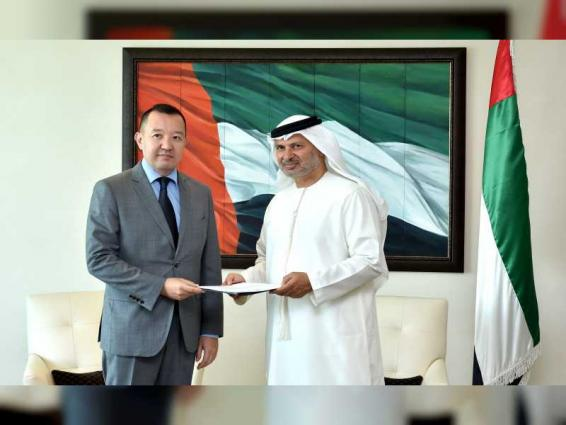 Mohamed bin Zayed receives letter from Kyrgyzstan President