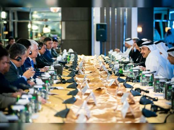 Abdullah bin Zayed chairs 'UAE-Kazakhstan Joint Committee'