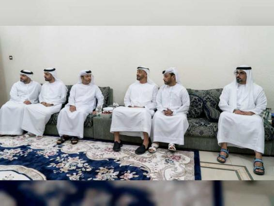 Mohamed bin Zayed offers condolences on death of Saif Hareb Al Suwaidi