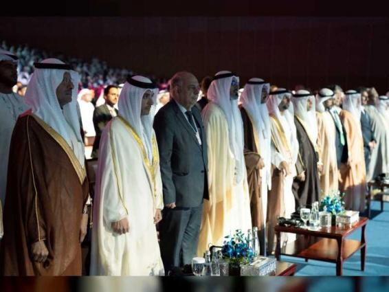 Hazza bin Zayed opens 24th World Energy Congress in Abu Dhabi