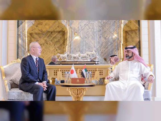Ajman Crown Prince receives Japanese Ambassador