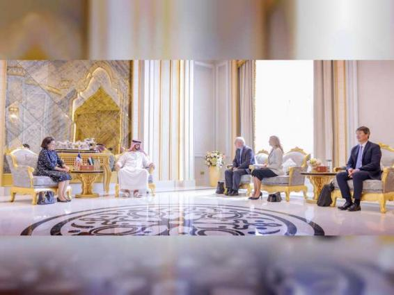 Ajman CP receives new French Consul-General