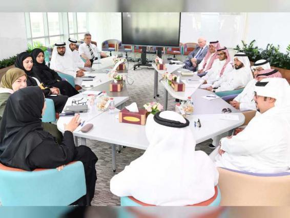 وفد سعودي يطلع على مشروعات وزارة تطوير البنية التحتية