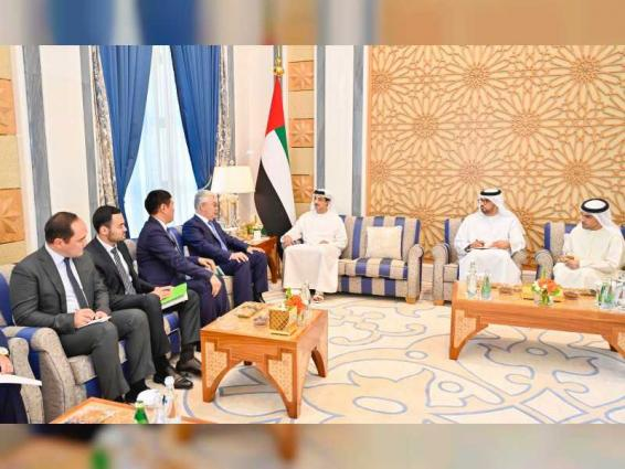 UAE President receives message from President of Kazakhstan