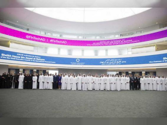 Hazza bin Zayed briefed on latest initiatives of Abu Dhabi Global Market