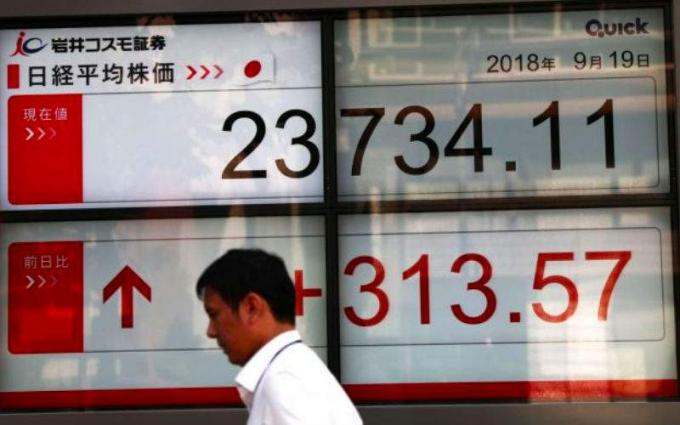 Tokyo's Nikkei closes higher for seventh straight session