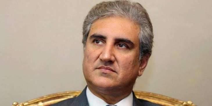 Foreign Minister Makhdoom Shah Mahmood Qureshi arrives Geneva to address UN Human Rights Council