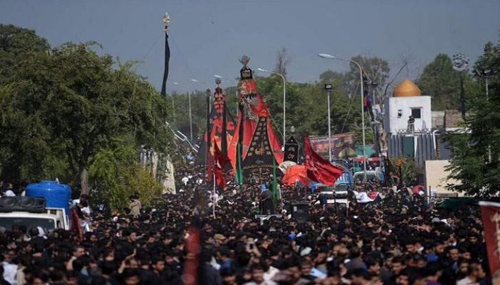 Ashura observed with reverence