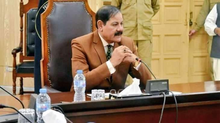 Speaker KP Assembly Mushtaq Ahmed Ghani , Info minister reach Peshawar