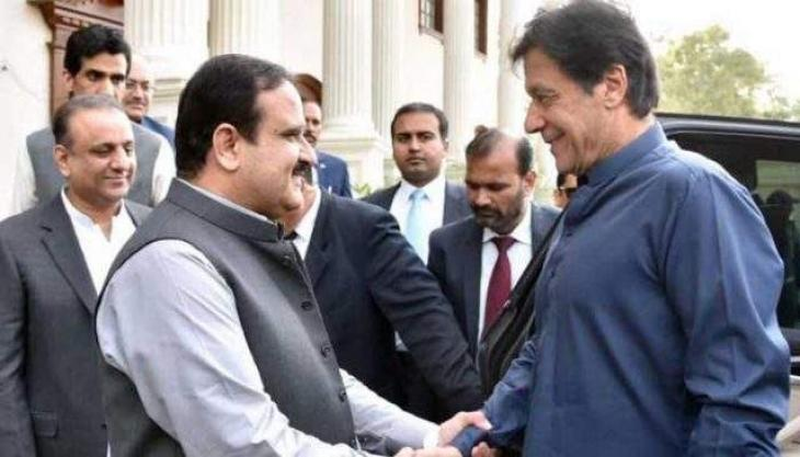 Prime Minister Imran Khan, Chief Minister Punjab Usman Buzdar  discuss overall situation of province