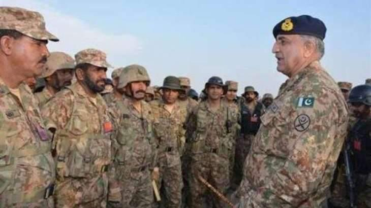 4 major generals promoted in Rawalpindi