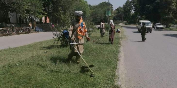 CDA's Clean and Green campaign remained continue during gazetted holidays