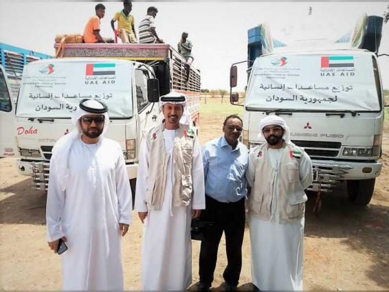 Khalifa Foundation assists persons affected by floods in Sudan