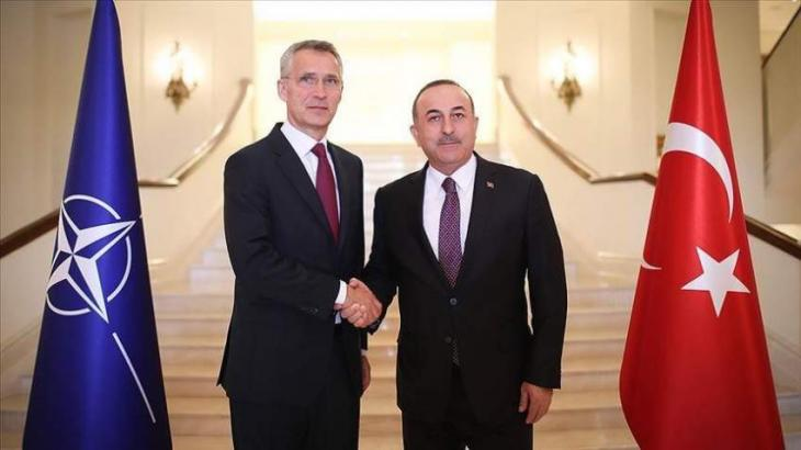 Turkish Foreign Minister Discusses Afghanistan With NATO Secretary General - Source