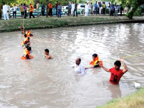 Boy drowns in canal in Faisalabad