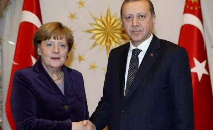 Erdogan, Merkel Discuss Developments in Syria, Libya in Phone Talks - Ankara