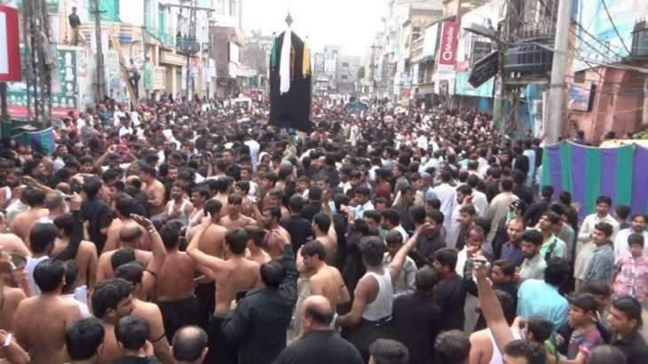 11th Moharram procession observed with religious fervor