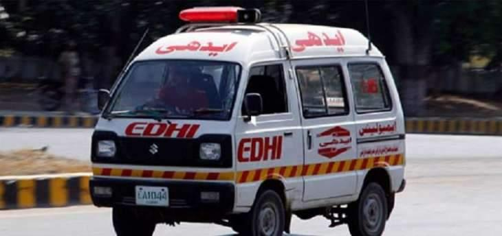 Man dies, seven injure in Nasirabad accident