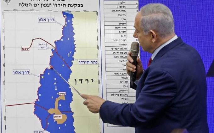 Hezbollah blames Gulf for Netanyahu annexation threat