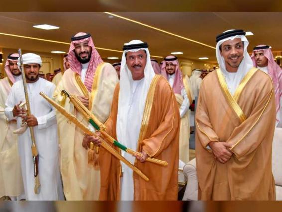 Mansour bin Zayed attends closing ceremony of Mohamed bin Salman Camel Festival