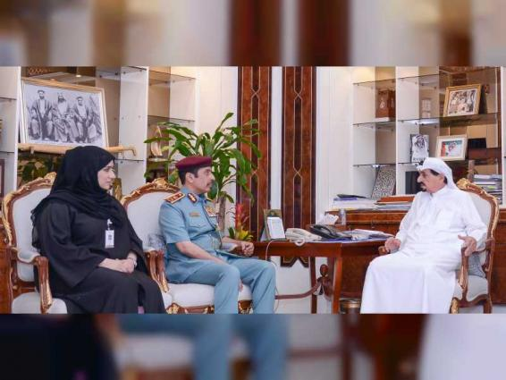 Humaid Al Nuaimi praises achievements of Traffic Services Centre, Customer Happiness Centre