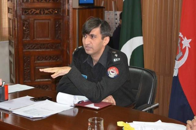 DPO Abbottabad awards certificate of appreciation to best police officers