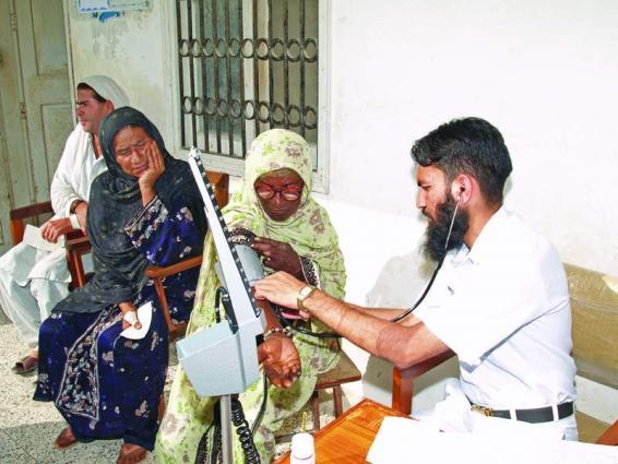 Pakistan Navy arranges free eye camp at Mubarik village