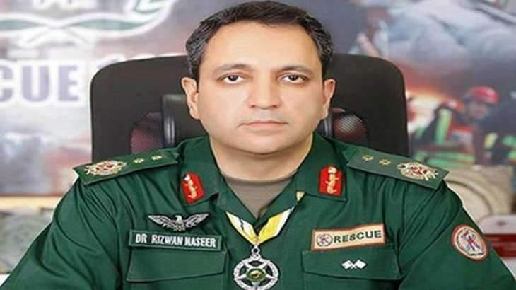 DG Rescue gives Rs 3.4 mln cheques to families of two rescuers