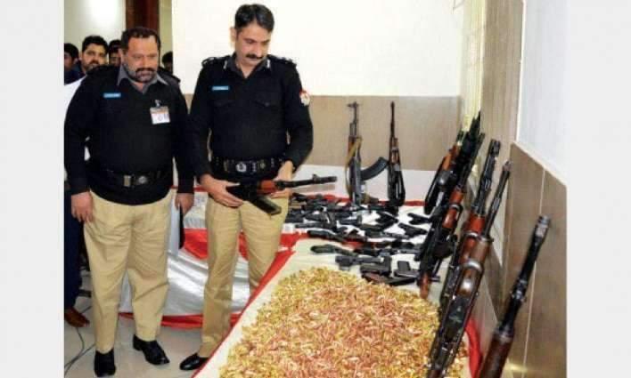 Five suspects held in Multan