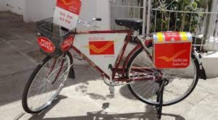 Use of bikes increases postmen efficiency