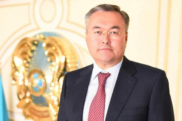 Kazakh First Deputy Foreign Minister Tleuberdi Appointed Minister - Decree