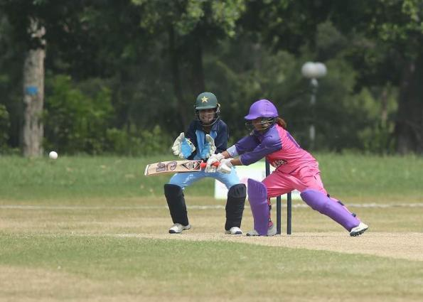 Sidra, Nashra guide PCB Blasters to consecutive win in National Triangular One-Day Women Cricket Championship