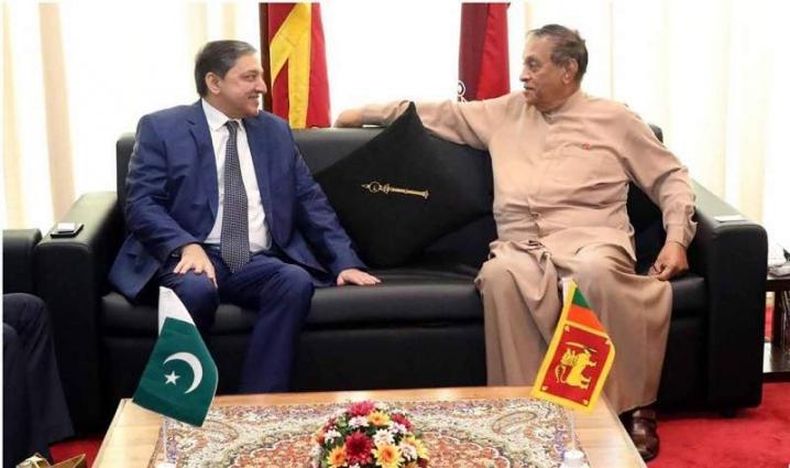 Saleem Mandviwalla & SriLankan Parliament'sSpeaker discuss education, Kashmir & Cricket