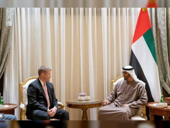 Mohamed bin Zayed receives Acting Secretary of US Army