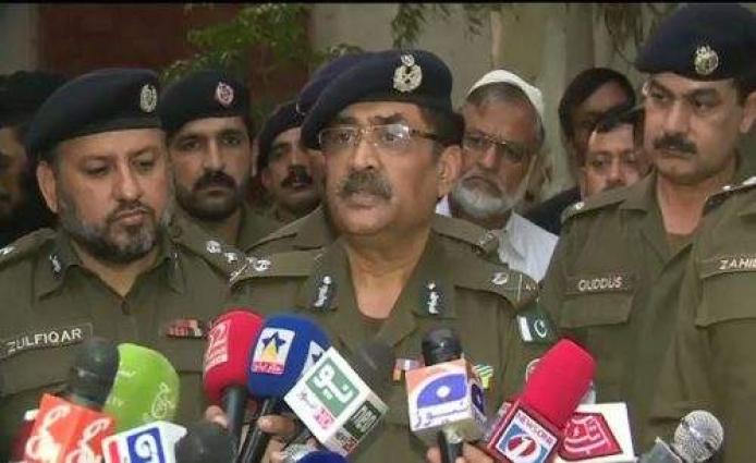 Canadian High Commissioner meets Punjab Inspector General of Police (IGP) Arif Nawaz Khan