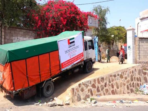 UAE provides 12 tonnes of food supplements to hospitals in Taiz