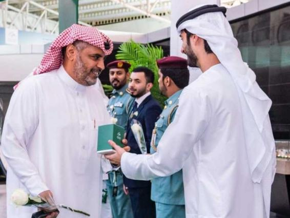 Sharjah Airport celebrates Saudi Arabia's 89th National Day
