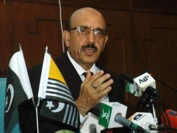 Elimination of Islam in S.Asia Modi's misconception: Sardar Masood Khan