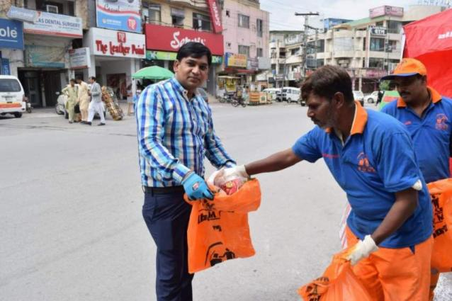 'World Cleanup Day' observed in city