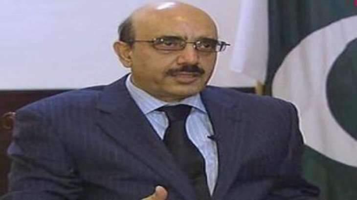 AJK President deplores UNSG for trying to maintain artificial balance between Pakistan, India