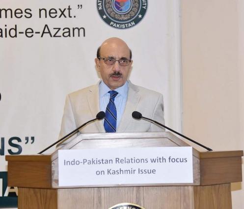 UNSG maintains artificial balance between Pakistan, India: Masood Khan