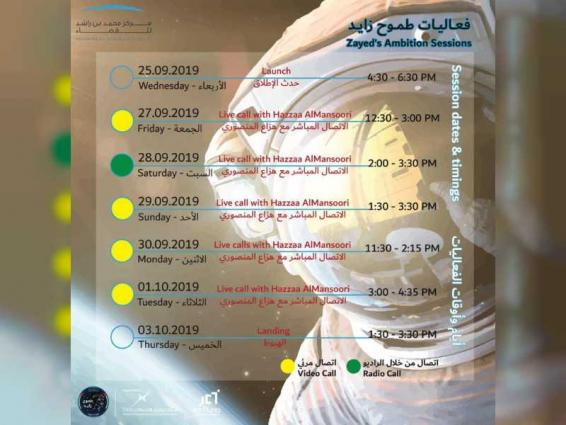 Mohammed bin Rashid Space Centre,Emirates Foundation organise live sessions with first Emirati astronaut from ISS