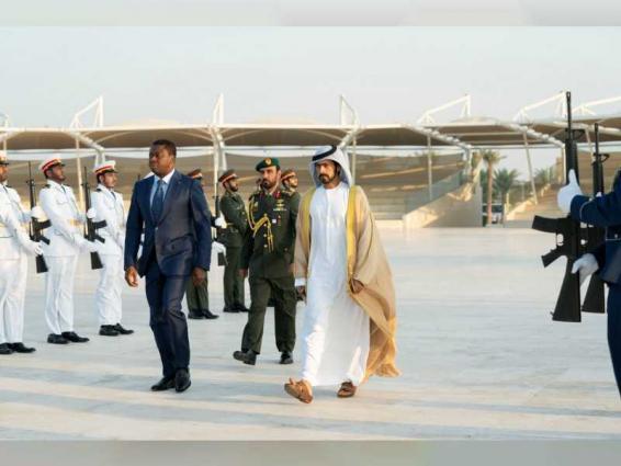 President of Togo visits Wahat Al Karama