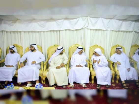 Umm Al Qaiwain Ruler offers condolences on death of Mohammed Saeed Amin