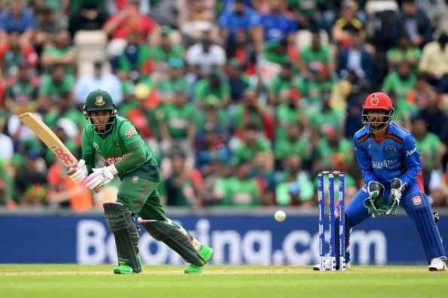 Bangladesh v Afghanistan T20 scoreboard
