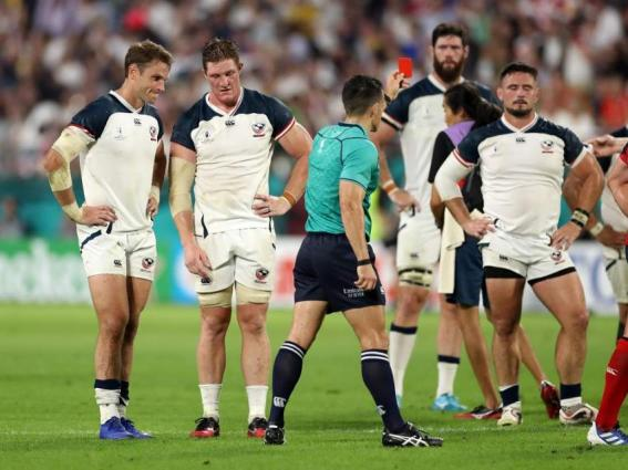 England run in 7 tries to down USA  45-7