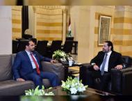 Lebanese PM receives UAE Ambassador