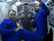 Ovchinin, Hague, Al Mansoori Return From ISS Aboard Soyuz MS-12 S ..