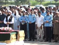 Namaz-e-Janaza of martyred constable held