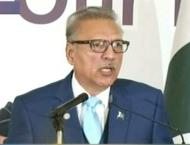 Pakistan wants peace, harmony in region: President Alvi